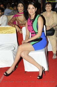Beautiful Kajal in Short Skirt