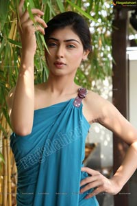 Nikita Sharma in Single Strap Gown