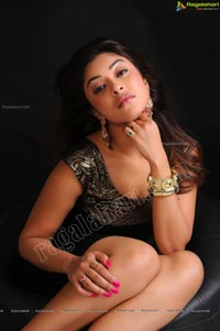 Payal Ghosh Armpit Show in Black