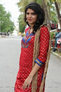 Deeksha Seth in Designer Wear Churidhar