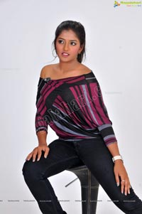Model Eesha in Western Dress