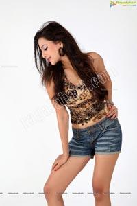 Madalsa Sharma Hot Denim Short