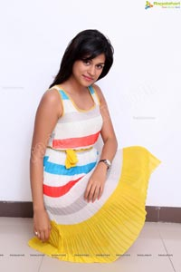 Ravishing Shraddha Das in Sleeveless Gown