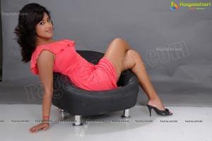 Soumya Bollapragada in Single Sleeve Frock
