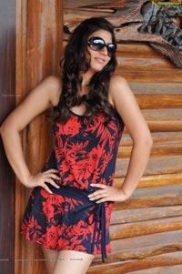 Sexy Sarah Sharma in Short Frock