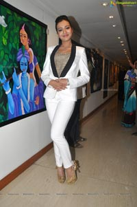 Catherine Tresa at Hyderabad Muse Art Gallery
