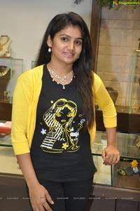 Model Hasini at Hiya Designer Jewellery Extended Showroon