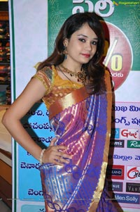 Model Neha Fathima at Hyderabad Patny Chandana Brothers