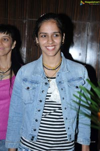 Saina Nehwal at Worlds Largest Zumba Bollywood Dance Aerobics Class