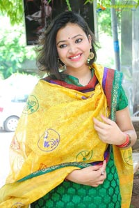 Swetha Basu Prasad at Srihita Boutique Launch