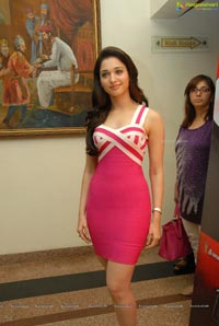 Tamanna at Rebel Teaser Launch