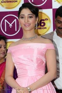 Tamannaah Bhatia at Malabar Gold n Diamonds showroom