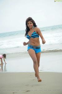 Sanjana in Bikini