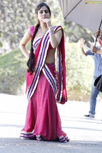 Aksha Hot in Saree