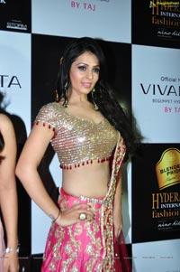 Anjana Sukhani @ Blenders Pride Hyderabad 2012
