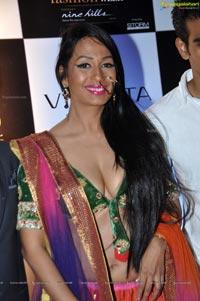 Kashmira Shah @ Blenders Pride Hyderabad 2012