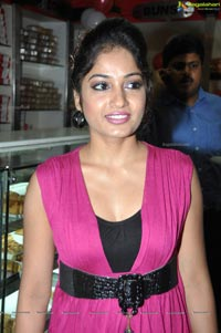 Madhavilatha in Hot Pink Dress