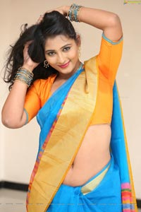 Teja Reddy in Saree