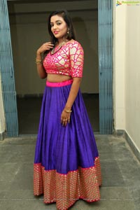 Ayushi at Ms. and Mr Tehzeed Grand Finale
