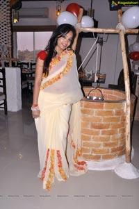 Madhavilatha @ Kadai Restaurant Launch