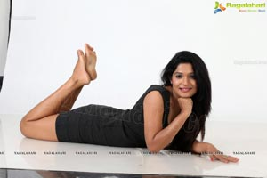 Katyayani Sharma in Black Frock