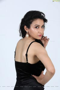 Sakshi Kakkar Black Frock
