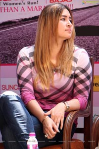Jwala Gutta at Pinkathon 3rd Edition Pressmeet