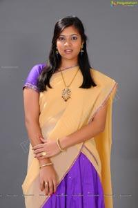 Beautiful Telugu Speaking Heroine Moulika