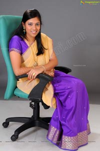 Beautiful Telugu Speaking Heroine Moulika