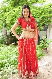Sexy Anu Smrithi in Red Dress - High Resolution Photos
