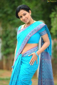Asha Shaini in Married Lady Getup Stills