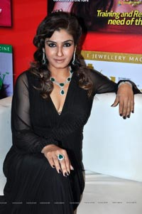 Raveena Tandon in Black Dress - High Resolution Photos
