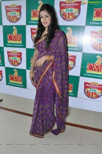 Hyderabad Model Annie in Saree Photos