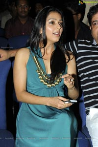 Bhumila Chawla in Low Neck Dress