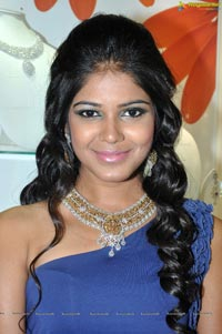Model Debbie at Hyderabad Kirtilals Shravana Masa Offers Launch