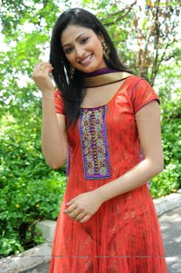 Beautiful Haripriya in Red Dress Photos