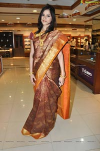 Hyderabad Model Himani Singh in Saree Photos