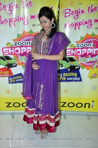 Hyderabad Model Himani Singh at Zooni Centre Photos