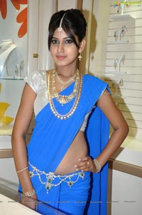 Model Honey at Hyderabad Kirtilals Shravana Masa Offers Launch