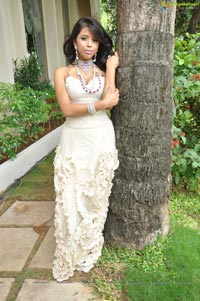 Photos of Model Krithika at AOJ Media-HIGJE Function