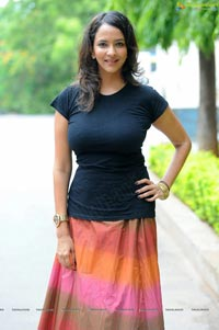 Lakshmi Prasanna posing in Skirt Photos