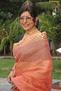 Urvasi Sharada at Sukumarudu Press Meet