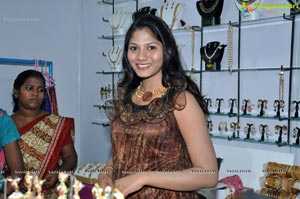 Shruti Reddy at Parinaya Fashion Lifestyle Exhibition, Hyderabad