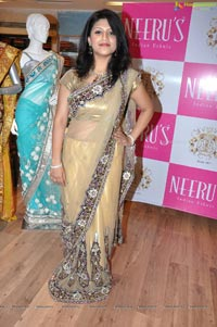 Supriya at Hyderabad Neerus