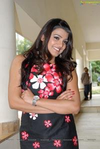 Tashu Kaushik in Sleeveless Dress