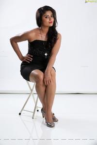 Priyanka Sharma Black Dress