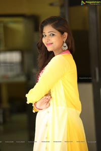 Teja Reddy Yellow Dress