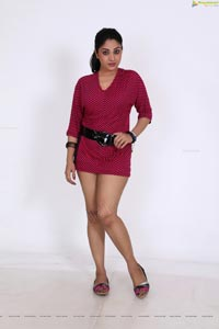 Blood Heroine Avanika in Short Pink Frock