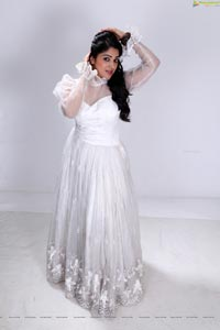 Beautiful Avanika in Long White Frock - HD Photos