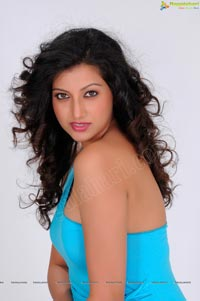 Photos of Hamsa Nandini in Hot Sleeveless Dress